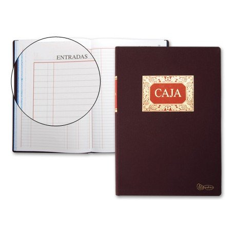 Libro de caja Cartone Milquerlrius tamaño Folio Dietario
