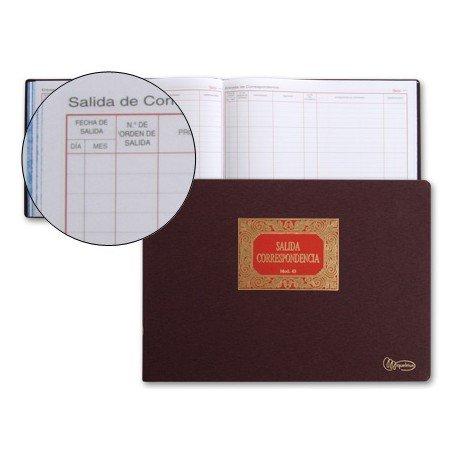 Libro Miquelrius tamaño folio apaisado Salida de correspondencia