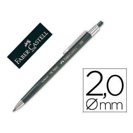 Portaminas Faber Castell TK 9500 de 2mm