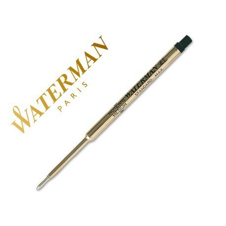 Recambio bolígrafo Waterman color negro
