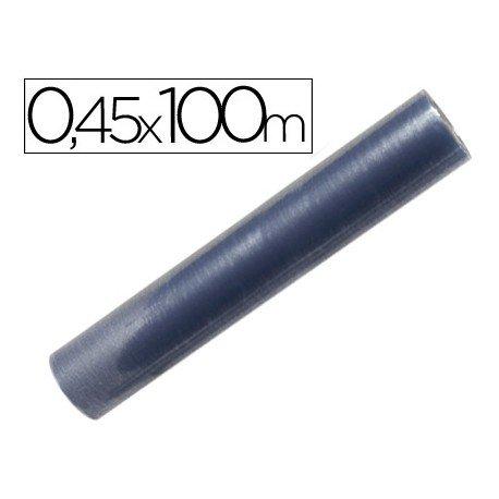 Rollo plastico forralibros Liderpapel de 0,45 x 100 m