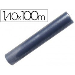 Rollo plastico forralibros Liderpapel de 1.40 x 100 m