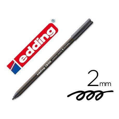 Rotulador Edding 1300 color negro