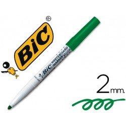 Rotulador velleda verde Bic