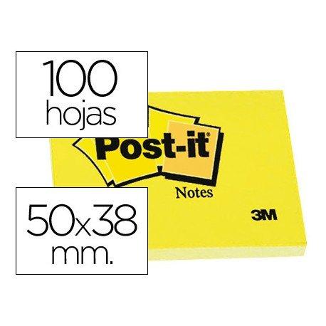 Bloc de notas adhesivas quita y pon Post-it ®