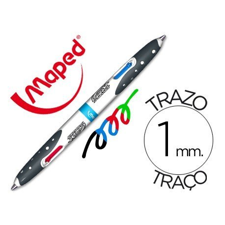 Bolígrafo marca Maped trazo 1mm