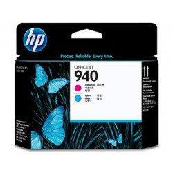 Cabezal marca HP 940 cian y magenta C4901A