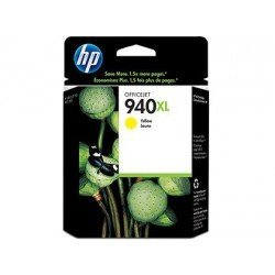 Cartucho HP 940XL color amarillo C4909A