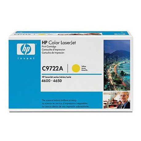 Toner HP 641A C9722A color Amarillo