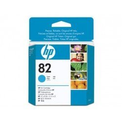 Cartucho HP 82 color cian CH566A