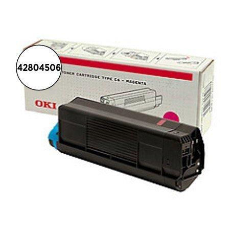 Toner OKI magenta -3000 pag- type c6 (42804506) C5200 C5400