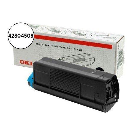 Toner OKI negro -3.000 pag- type c6 (42804508) C5200 C5400