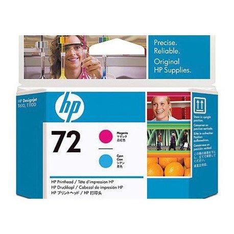 Cabezal marca HP 72 magenta y cian C9383A