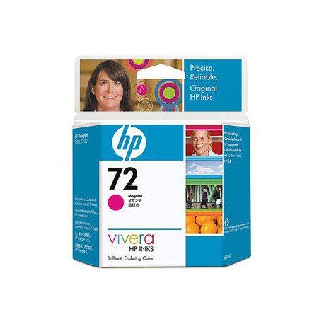 Cartucho HP 72 color magenta C9399A