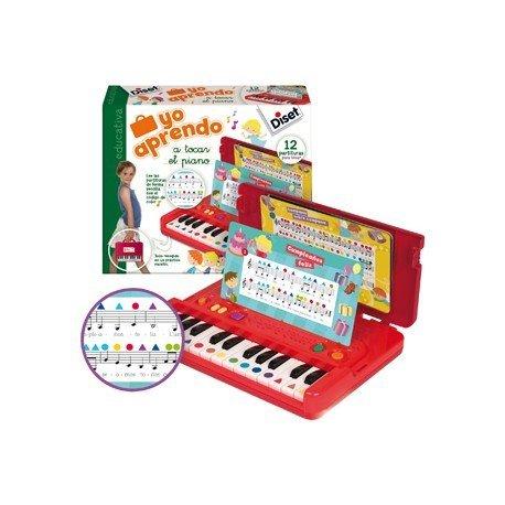 Juego didáctico a partir de 3 años Yo aprendo a tocar el Piano Diset