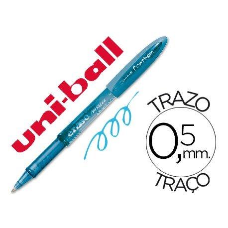 Boligrafo Borrable Uni-ball UF-202 Fanthom color azul claro 0,5 mm