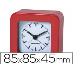Reloj analogico marca Daewoo rojo