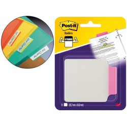 Banderitas Post-it ® separadoras Index color rosa