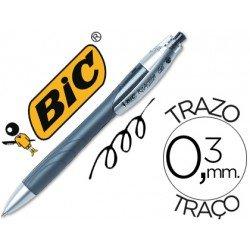 Boligrafo Bic Reaction gel Negro 0,3 mm