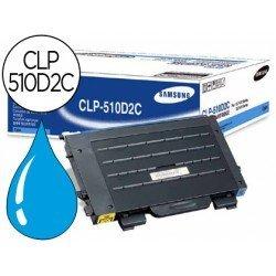 Toner Samsung laser (CLP-510D2C) cian CLP-510 CLP-510n