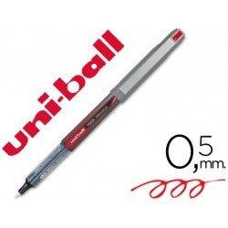 Boligrafo rotulador Uni-ball Lub187 rojo