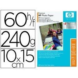 Papel foto HP Premium satinado 10 x 15 cm