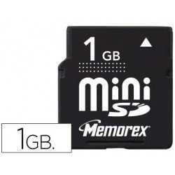 Memoria Memorex flash mini SD 1GB travel card