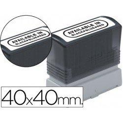 Etiquetas para sellos marca Brother 40x40 mm