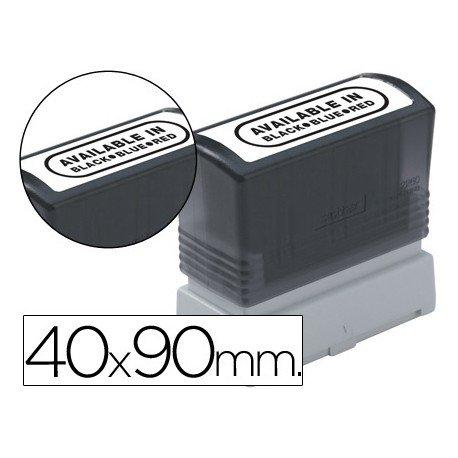 Etiquetas para sellos marca Brother 40x90 mm