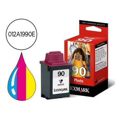 Cartucho Lexmark Jetprinter 012A1990E tricolor Nº90