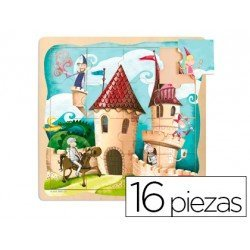 Puzzle a partir de 3 años Castillo 16 piezas Goula