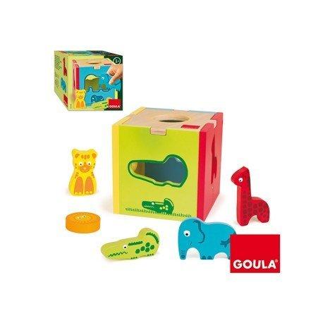 Puzzle Diset Cubo animales selva