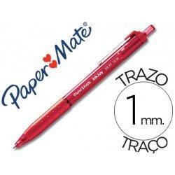 Bolígrafo Paper Mate Inkjoy 300 RT rojo 1 mm