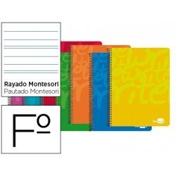 Bloc marca Liderpapel folio Write rayado montessori 3,5 mm