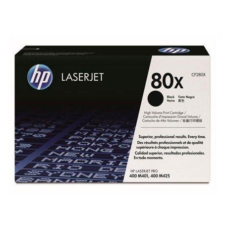 Toner HP 80X CF280X color Negro
