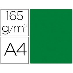 Papel color Liderpapel color verde acebo A4 165g/m2