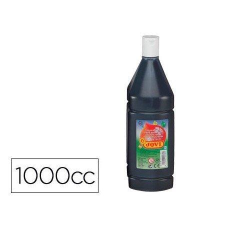 Tempera liquida JOVI color negro 1000 cc