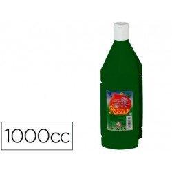 Tempera liquida JOVI color verde oscuro 1000 cc