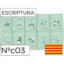 Cuaderno Rubio caligrafia Nº03 Catalan