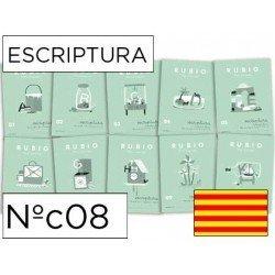 Cuaderno Rubio caligrafia Nº08 Catalan