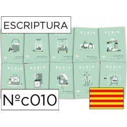 Cuaderno Rubio caligrafia Nº010 Catalan