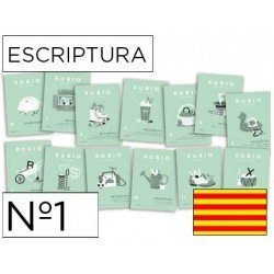 Cuaderno Rubio caligrafia Nº1 Catalan