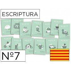 Cuaderno Rubio caligrafia Nº7 Catalan