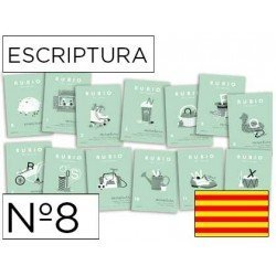 Cuaderno Rubio caligrafia Nº8 Catalan