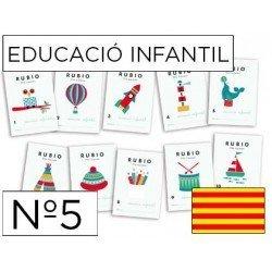 Cuaderno Rubio infantil Nº5 Catalan