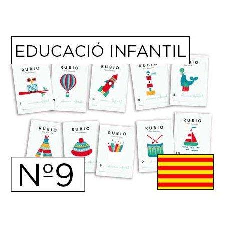 Cuaderno Rubio infantil Nº9 Catalan