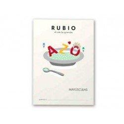 Cuaderno Rubio letras mayusculas
