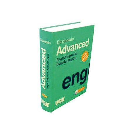 Diccionario VOX Advanced español ingles
