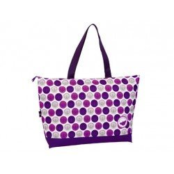 Bolso Playa Paola Dominguin 59x40x16 cm Morado