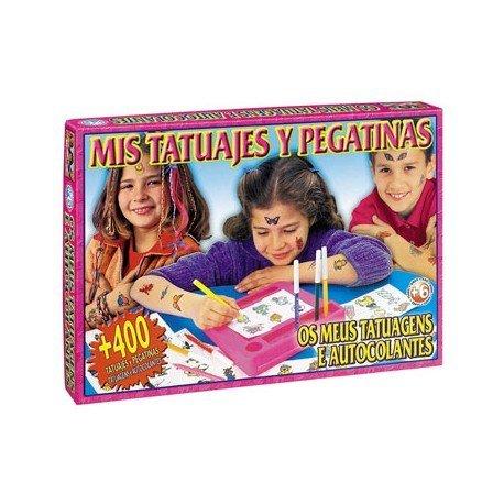 Juegos de mesa Mis tatuajes y pegatinas Falomir